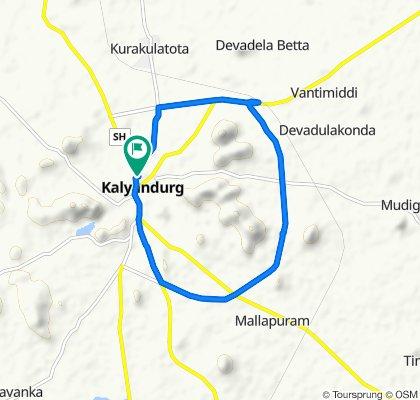 Andhra Bank, Kalyandurg to Andhra Bank, Kalyandurg