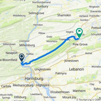 Harrisburg to Echo Valley