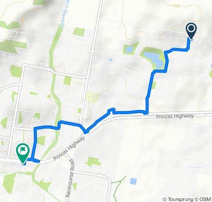 45 Meadowlea Crescent, Pakenham to 11 Princes Highway, Pakenham