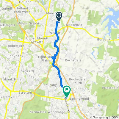 2–4 Hythe Street, Mansfield to 22 Kenway Drive, Underwood