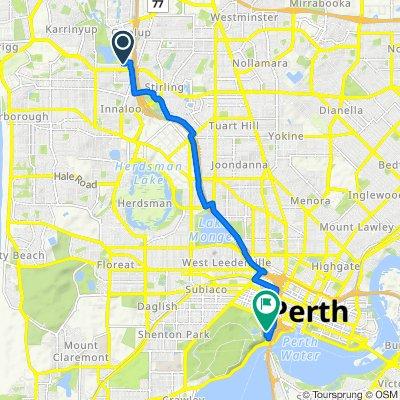 3 Lehmans Mews, Gwelup to 146-162 Mounts Bay Road, Perth