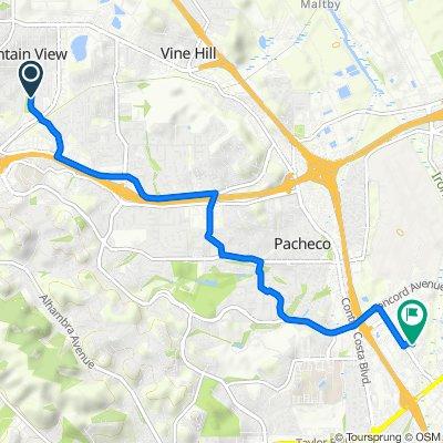 719 Parkway Dr, Martinez to 2030 Diamond Blvd, Concord