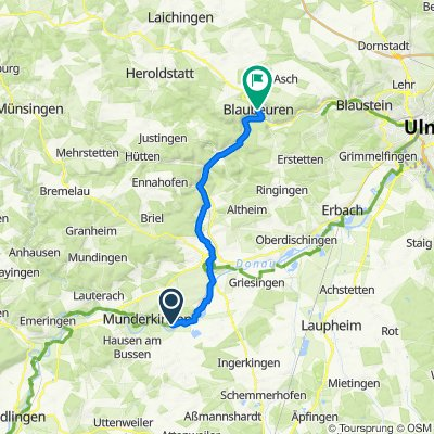 Bleiche 2, Rottenacker nach Karlstraße 17, Blaubeuren