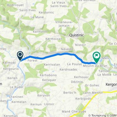 De Manervern 308, Languidic à Languidic