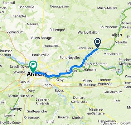 De 9 Rue de Lavieville, Ribemont-sur-Ancre à 61 Rue Rembault, Amiens