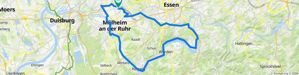 Grugatrasse - RS1 RuhrtalRadweg