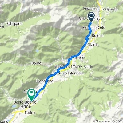Ono San Pietro Radfahren