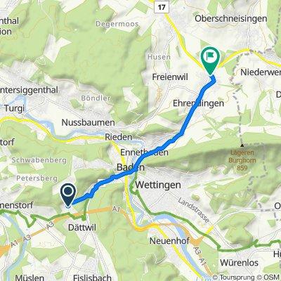 Segelhofstrasse 32D, Dättwil AG nach Au 15, Ehrendingen