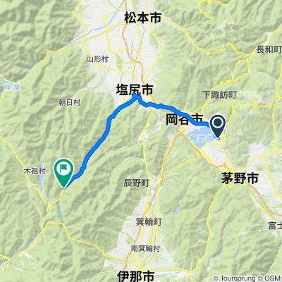 1-chōme 1, Suwa to 1136-5, Shiojiri