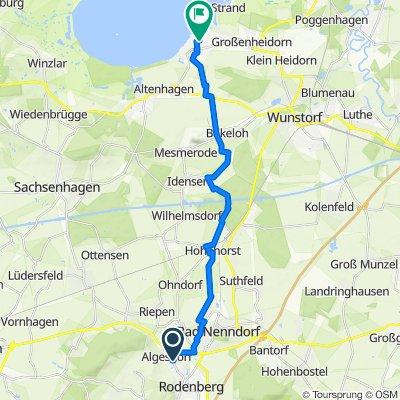 Osterfeld 6, Rodenberg nach Bleichenstraße 26, Wunstorf