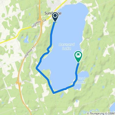 Sundrige Bernard lake