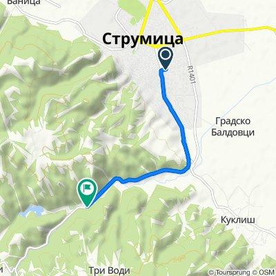 Krushevska Republika 93, Strumica to R1401, Струмица
