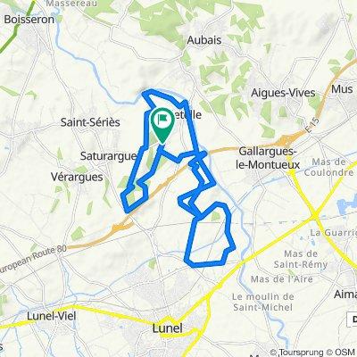 De 959 Chemin de Montpellier, Villetelle à 930 Chemin de Montpellier, Villetelle