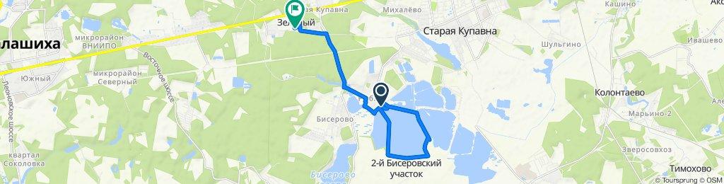 От Unnamed Road, Рыбхоз до Щемилово