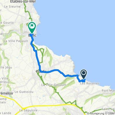Itinéraire vers 5 Place de l'Église, Binic