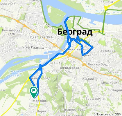 Водоводска 59, Београд to Водоводска 59, Београд