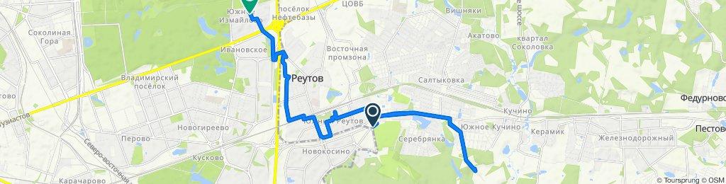 Велоездки осенние Салтыковка- Реутов 16 09 2018
