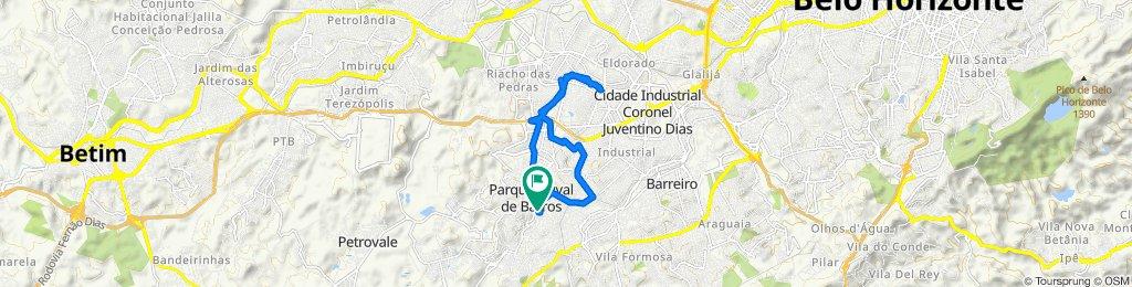 2° dia de pedalada