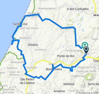 Paul - Eco Pista - Foz - Santa Cruz - Palhagueiras - Pau
