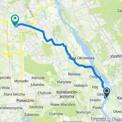 Trasa do Wincentego Rzymowskiego 36/23, Warszawa