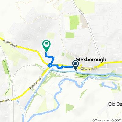 Station Road, Mexborough to 29 Wood St, Mexborough