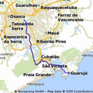 Guarujá via Manutenção