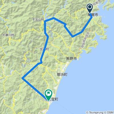 尾鷲→新宮