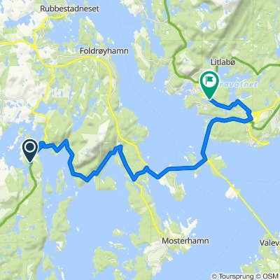 De Kanalvegen 1 à Tjødnalio skule, Sagvåg