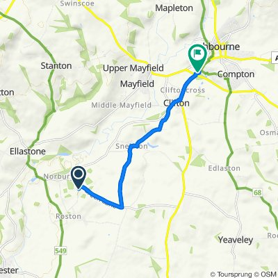 Norbury to Ashbourne