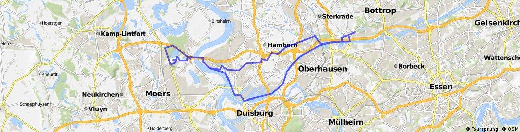 Osterfeld - Halde Rheinpreussen und Retour.