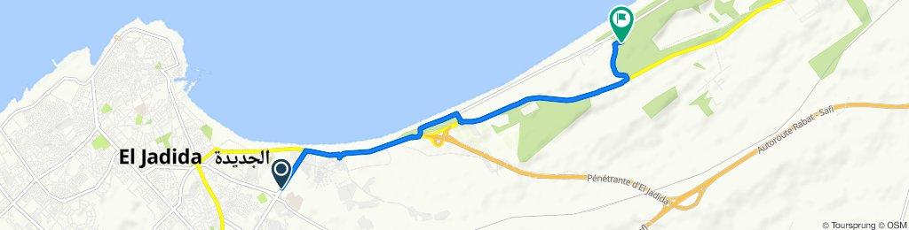 Itinéraire à partir de Avenue Khalil Jabrane, El Jadida