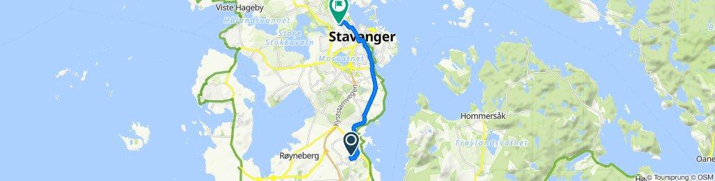 De Eikesetveien, Stavanger à Almeveien 4, Stavanger