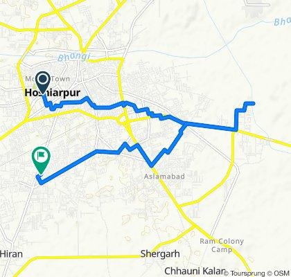 Bus Stand Road, Hoshiarpur to Phagwara Hoshiarpur Road 1
