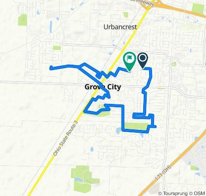 2861 Dennis Ln, Grove City to 3029 Dennis Ln, Grove City