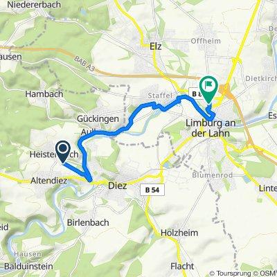 St.-Peter-Straße 45, Heistenbach nach Kraicherhohl 3, Limburg an der Lahn