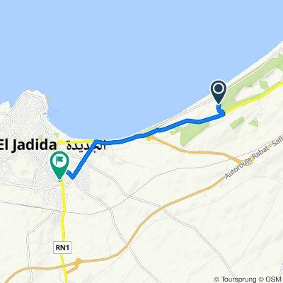 Itinéraire vers Avenue Ben Badis 282–286, El Jadida