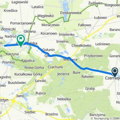 Pałacowa 25–29A, Czerniejewo do Lewandowskiego 1–17, Pobiedziska