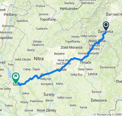 zarnovica - sala (bikemap) 2.1