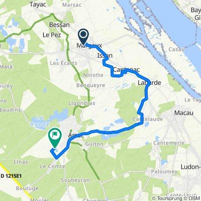 De 1–7 Avenue de la Liberté, Margaux à Le Bourg, Arsac