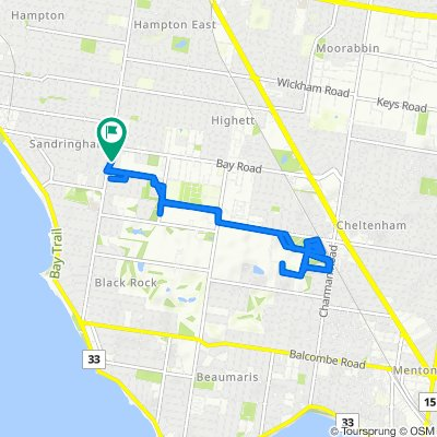 280 Bluff Road, Sandringham to 280 Bluff Road, Sandringham