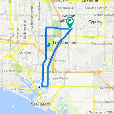 8145 E Wardlow Rd, Long Beach to 8145 E Wardlow Rd, Long Beach