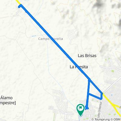 De Calle Borbollón 5001, Culiacán Rosales a Calle Borbollón 5012, Culiacán Rosales