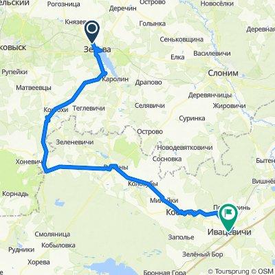 [Zelva] Зельва - Подорск - Лысково - Ружаны - Коссово - Ивацевичи