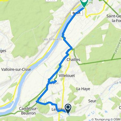 De 412 L'Hermitage, Les Montils à Levée de Chailles, Blois
