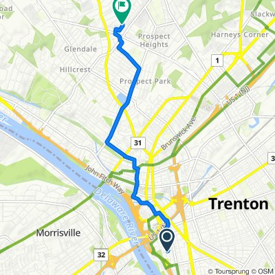 229–299 Federal St, Trenton to 45 Pennwood Dr, Ewing