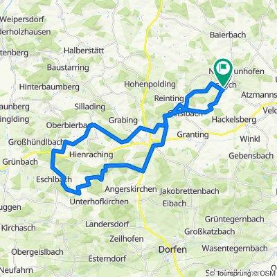 waldrunde taufkirchen 42 km