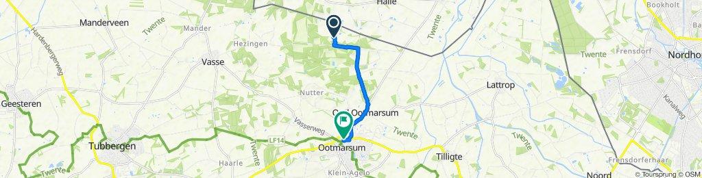 Brunninkhuisweg, Hezingen naar Denekamperstraat 5B, Ootmarsum