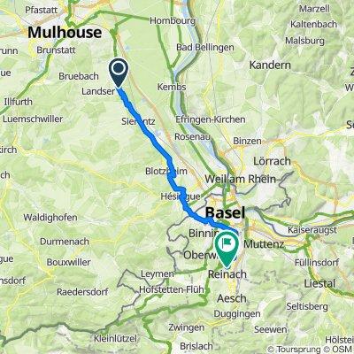 Sporty route in Schlierbach