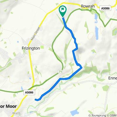Braddan, Skelsceugh Road, Frizington to Blake Fell, Skelsceugh Road, Frizington