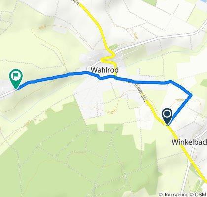 B8, Wahlrod nach L265, Berod bei Hachenburg